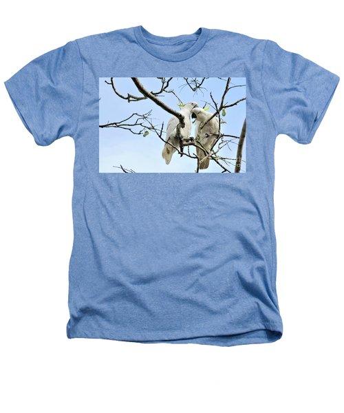 Sulphur Crested Cockatoos Heathers T-Shirt