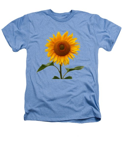 Sunflower On White Heathers T-Shirt