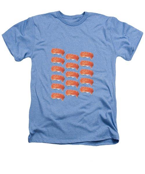 Sushi T-shirt Heathers T-Shirt by Edward Fielding