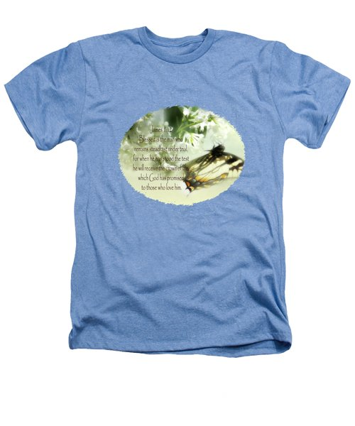 Swallowtail And Lilac Heathers T-Shirt