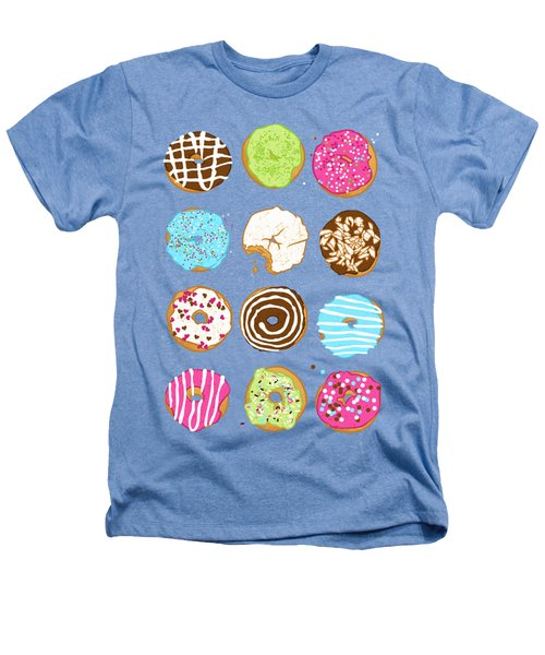 Sweet Donuts Heathers T-Shirt by Evgenia Chuvardina