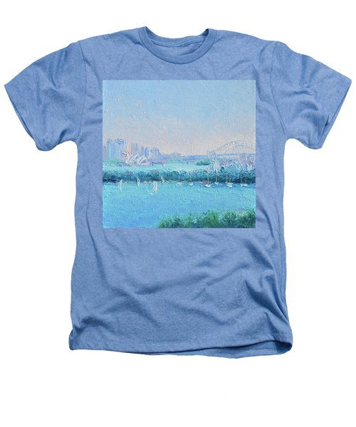 Sydney Harbour And The Opera House Heathers T-Shirt by Jan Matson
