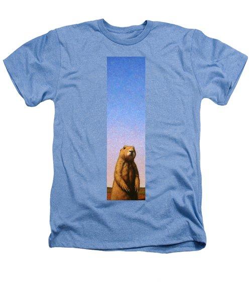 Tall Prairie Dog Heathers T-Shirt by James W Johnson