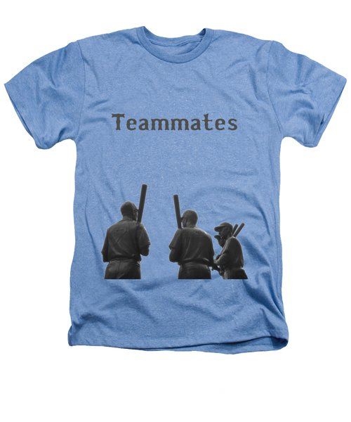 Teammates Poster - Boston Red Sox Heathers T-Shirt