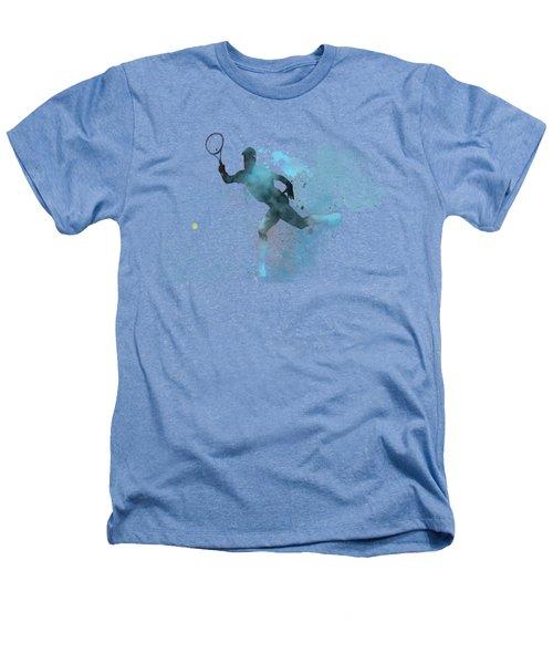 Tennis Player -19 Heathers T-Shirt