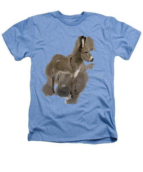 That Cute Donkey Foal In Profile Heathers T-Shirt