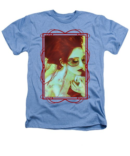 The Bleeding Dream - Self Portrait Heathers T-Shirt
