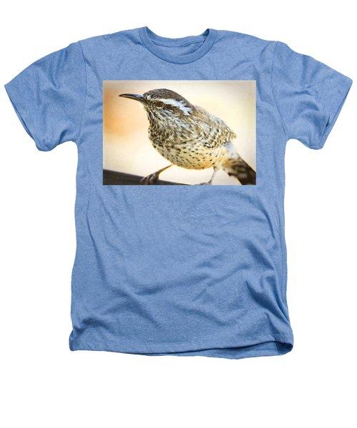 The Cactus Wren  Heathers T-Shirt by Saija  Lehtonen