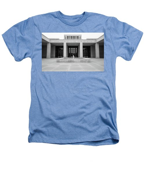 The George W. Bush Presidential Library And Museum  Heathers T-Shirt by Robert Bellomy