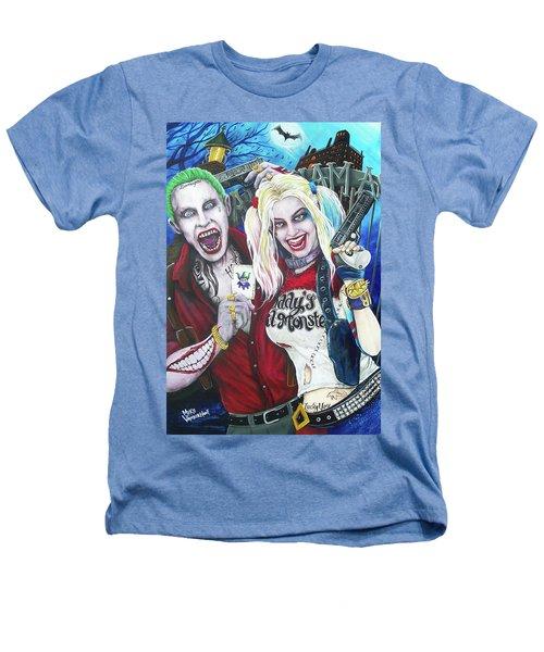 The Joker And Harley Quinn Heathers T-Shirt by Michael Vanderhoof