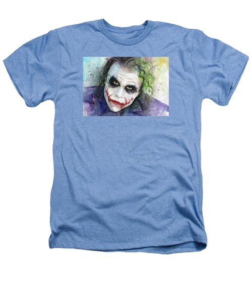 The Joker Watercolor Heathers T-Shirt