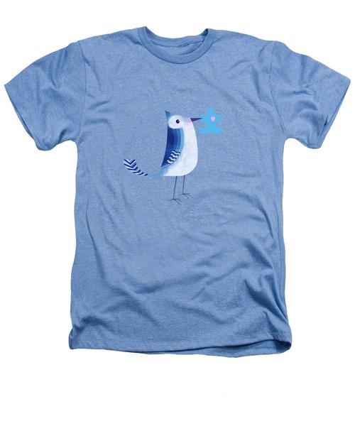 The Letter Blue J Heathers T-Shirt