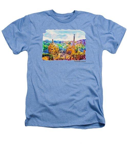 Park Guell Barcelona Heathers T-Shirt