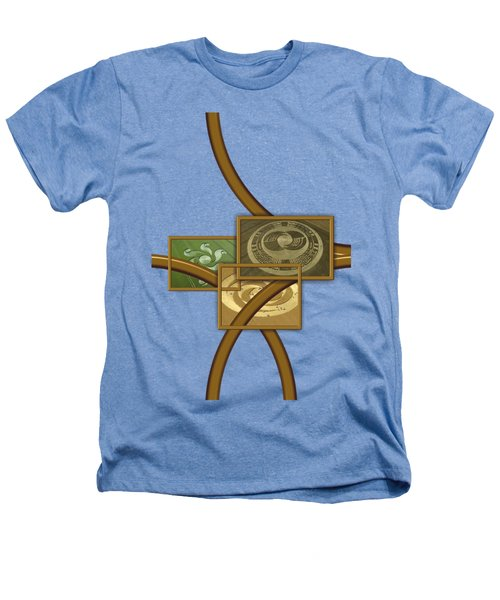 The World Of Crop Circles By Pierre Blanchard Heathers T-Shirt