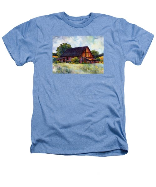 This Old Barn Heathers T-Shirt by Hailey E Herrera