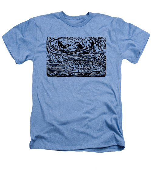 Three Little Monkeys  Heathers T-Shirt