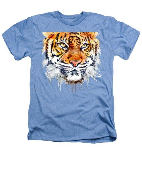 Tiger Face Close-up Heathers T-Shirt