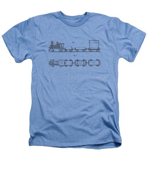 Toy Train Tee Heathers T-Shirt by Edward Fielding