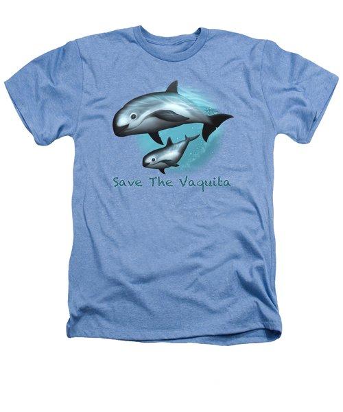 Treacherous Waters Vaquita Porpoise Heathers T-Shirt