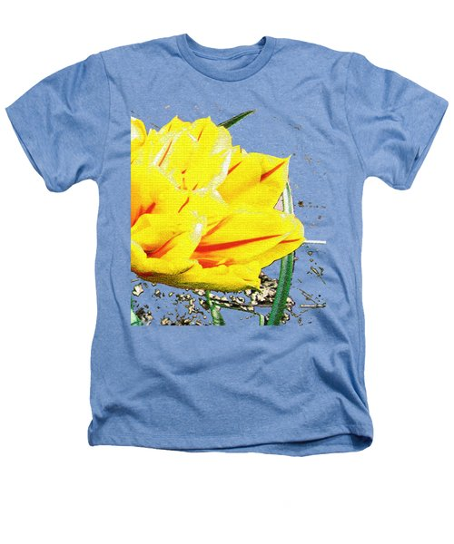 Tulip 3 Heathers T-Shirt by Vesna Martinjak