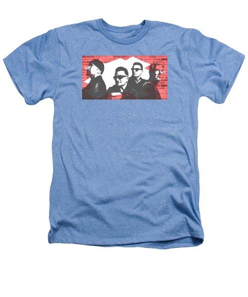 U2 Graffiti Tribute Heathers T-Shirt by Dan Sproul