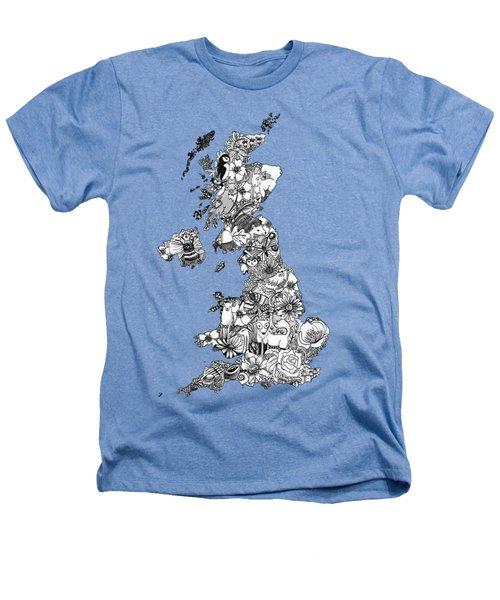 Uk Map Heathers T-Shirt