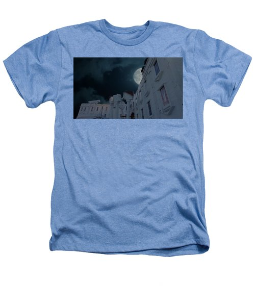 Upside Down White House At Night Heathers T-Shirt