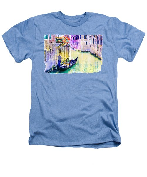 Venice Canal Heathers T-Shirt by Marian Voicu
