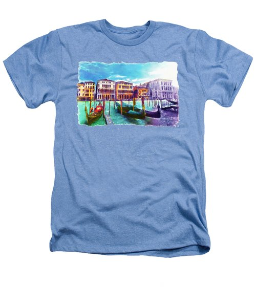 Venice Heathers T-Shirt by Marian Voicu