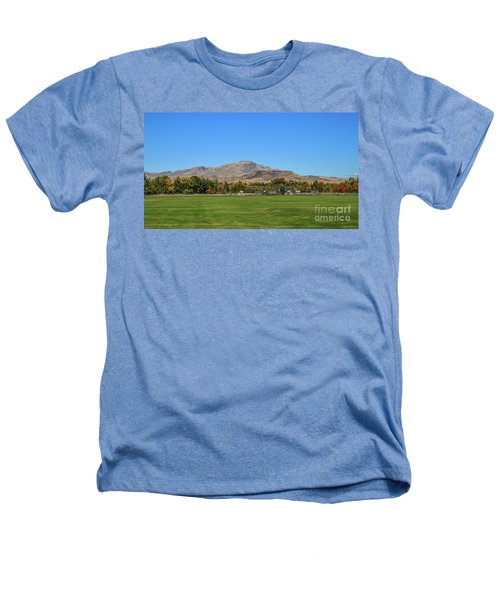 View From Gem Island Sport Complex Heathers T-Shirt