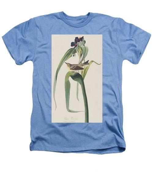 Vigor's Warbler Heathers T-Shirt by John James Audubon