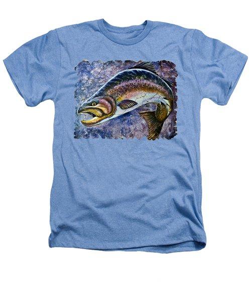 Vintage Blue Trout Fresco  Heathers T-Shirt