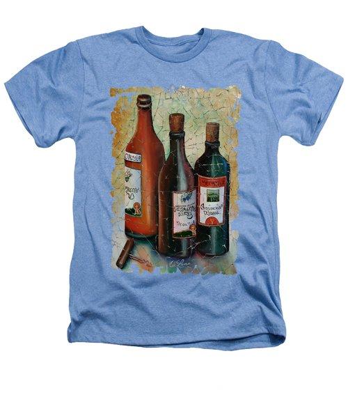 Vintage Georgian Wine Fresco Heathers T-Shirt by Lena  Owens OLena Art