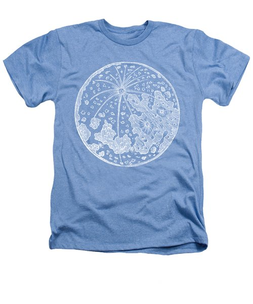 Vintage Planet Tee Blue Heathers T-Shirt