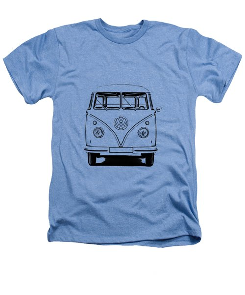 Vw Bus T-shirt Heathers T-Shirt by Edward Fielding