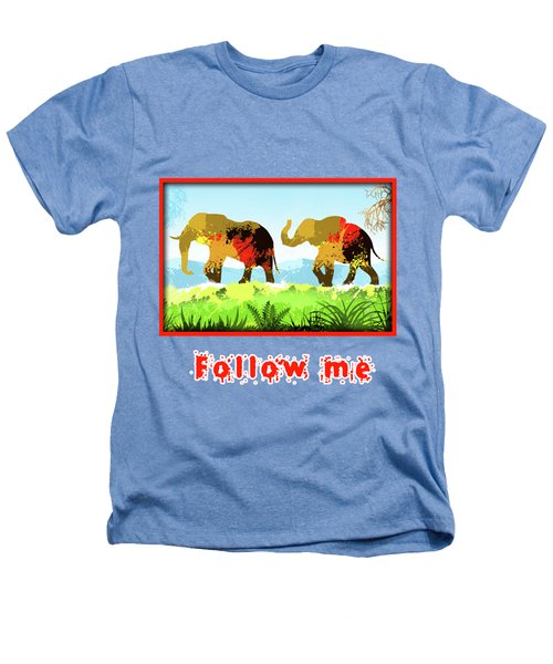 Walk With Me Heathers T-Shirt by Anthony Mwangi