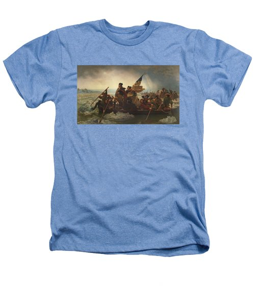 Washington Crossing The Delaware Heathers T-Shirt