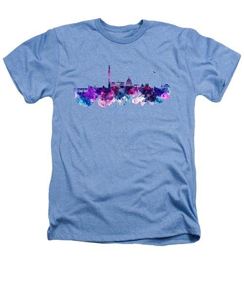Washington Dc Skyline Heathers T-Shirt