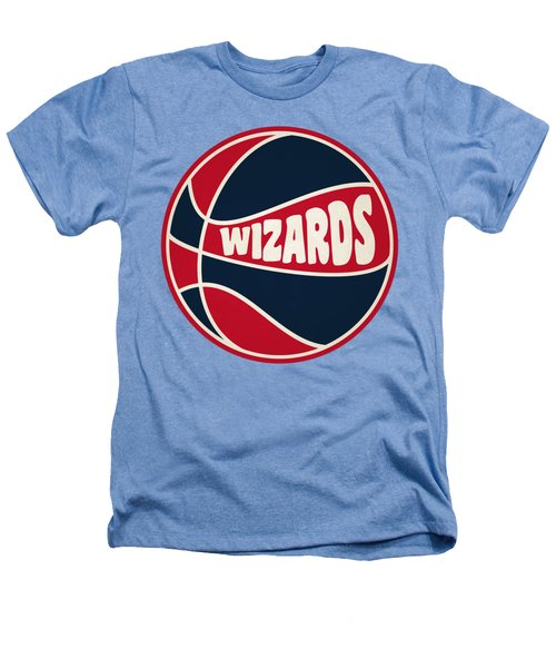 Washington Wizards Retro Shirt Heathers T-Shirt by Joe Hamilton