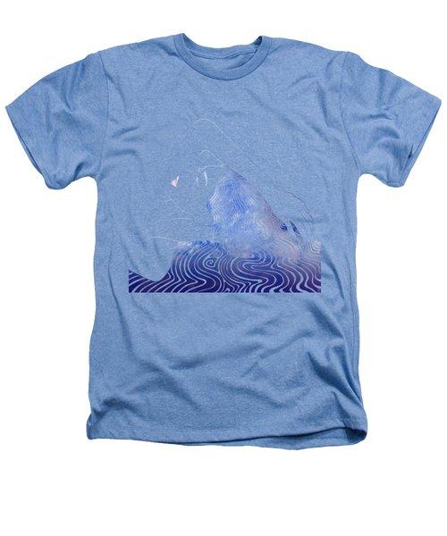 Water Nymph Lxxix Heathers T-Shirt by Stevyn Llewellyn