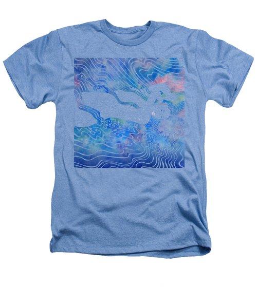 Water Nymph Lxxxiii Heathers T-Shirt by Stevyn Llewellyn