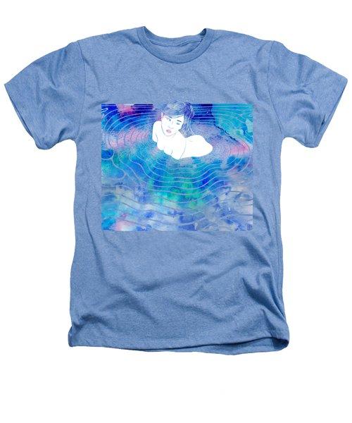 Water Nymph Lxxxix Heathers T-Shirt by Stevyn Llewellyn