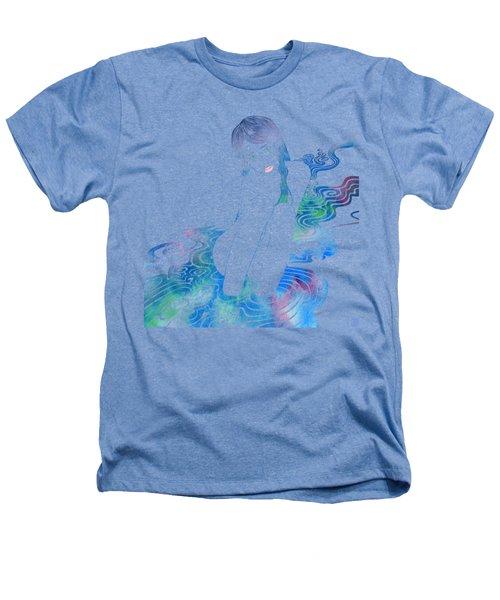 Water Nymph Lxxxvi Heathers T-Shirt by Stevyn Llewellyn