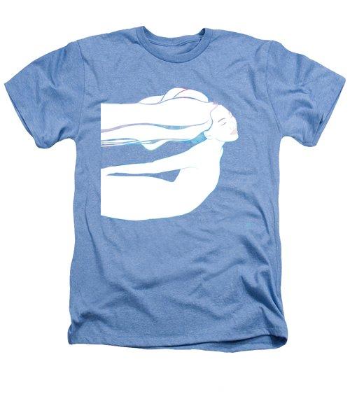 Water Nymph Xcix Heathers T-Shirt by Stevyn Llewellyn