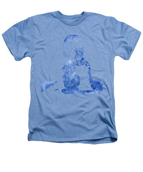 Water Nymph Xcvi Heathers T-Shirt by Stevyn Llewellyn