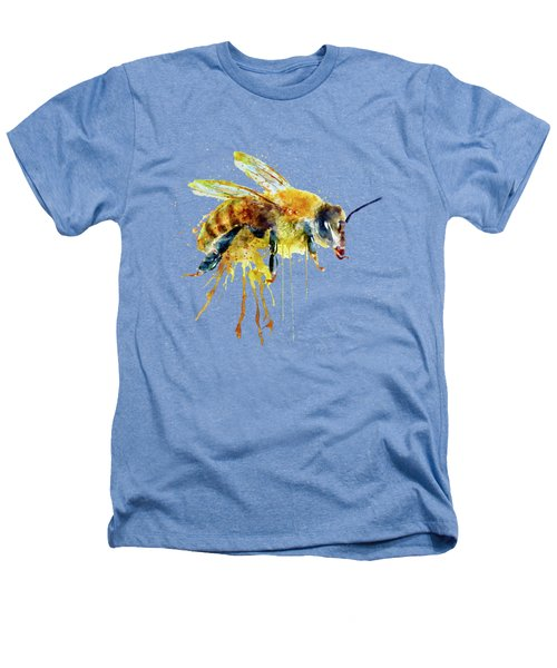 Watercolor Bee Heathers T-Shirt by Marian Voicu