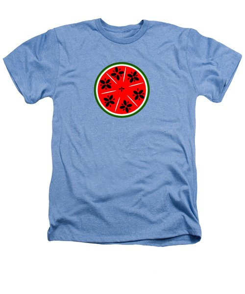 Watermelon Summer Heathers T-Shirt by Chastity Hoff