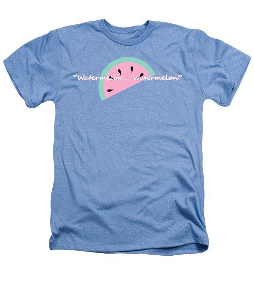 Watermelon Heathers T-Shirt by Tshepo Ralehoko