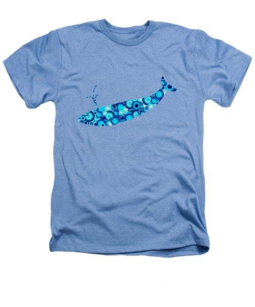 Whale - Animal Art Heathers T-Shirt