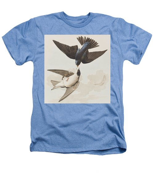 White-bellied Swallow Heathers T-Shirt by John James Audubon